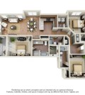 Langtree Apartments-Floor Plan-The Sundancer
